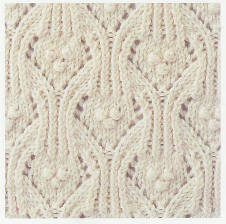 Lace Knitting Stitch #53 Lace Knitting Stitches