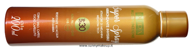 Pupa - Solari Multifunzione. Super Spray Abbronzante Invisibile SPF 30.
