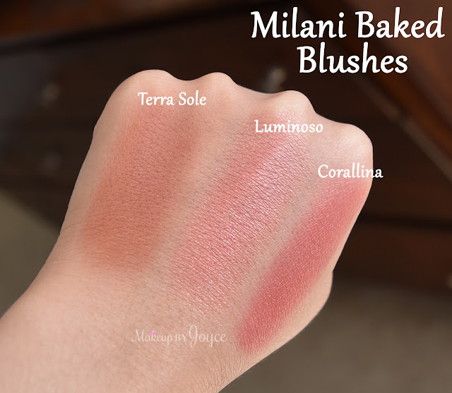 Milani Corallina vs Luminoso Swatches
