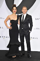 Berenice Marlohe and Daniel Craig at Skyfall Premiere in Berlin