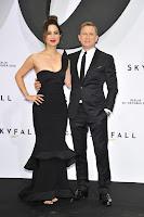 Berenice Marlohe and Daniel Craig at Skyfall Premiere in Berlin