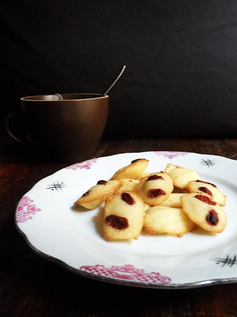 madeleine alle bacche di goji