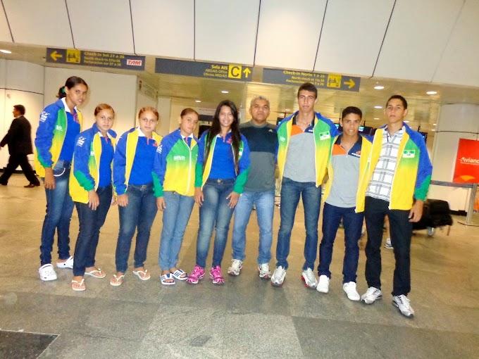 RN conquista 11 medalhas nos Jogos Escolares da Juventude em Belém