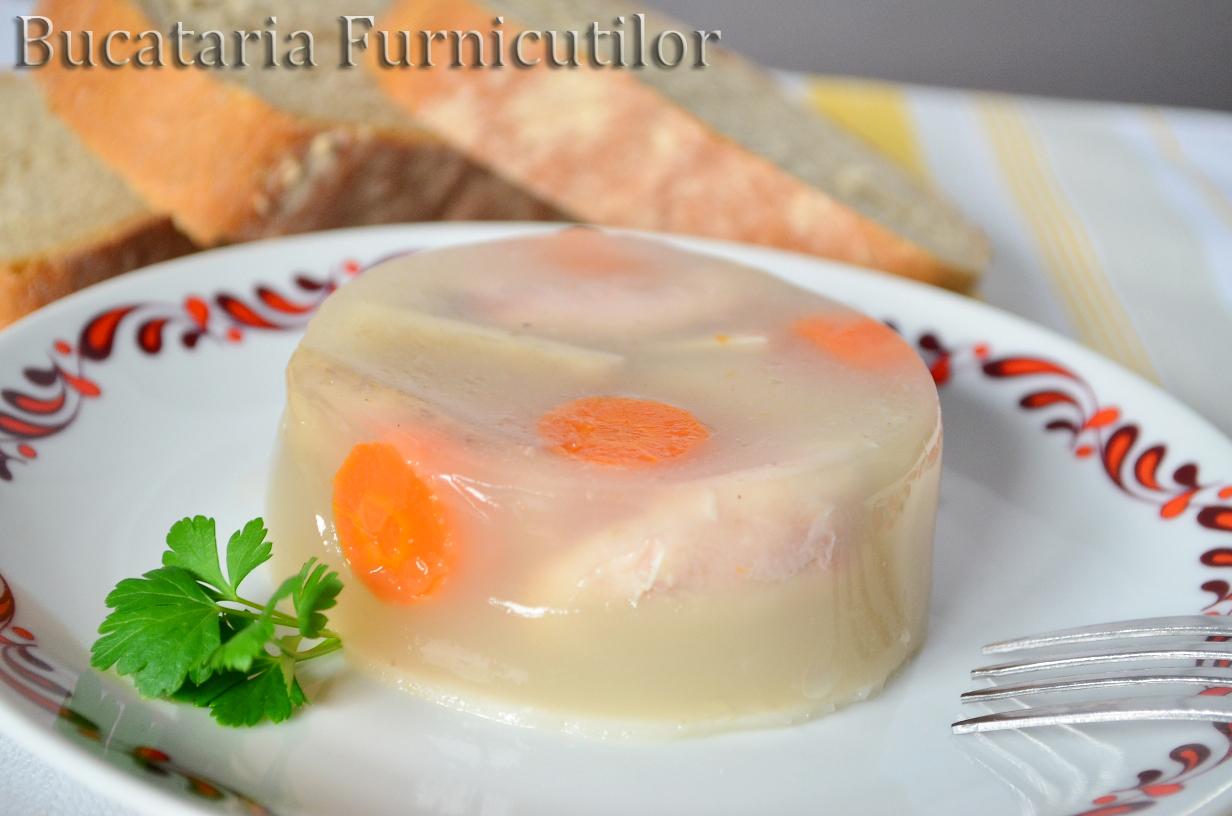 gelatina pentru piftie