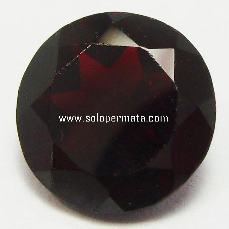 Batu Permata Melanite Garnet - 30A03