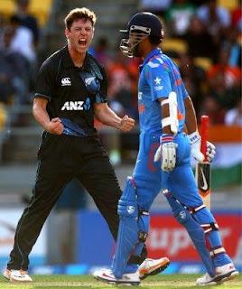 India vs New Zealand 5th ODI 2014 Scorecard, India vs New Zealand 2014 match result,