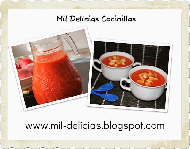 Receta gazpacho rapido