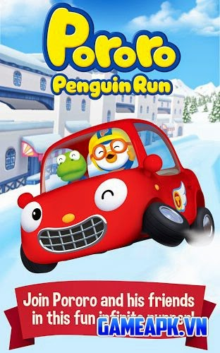Pororo Penguin Run v1.1.0 hack full tiền cho Android