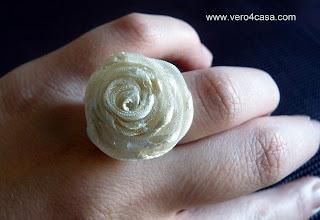 Como hacer anillo en forma de rosa