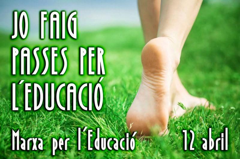 Marxa per l'Educació (12-04-14)