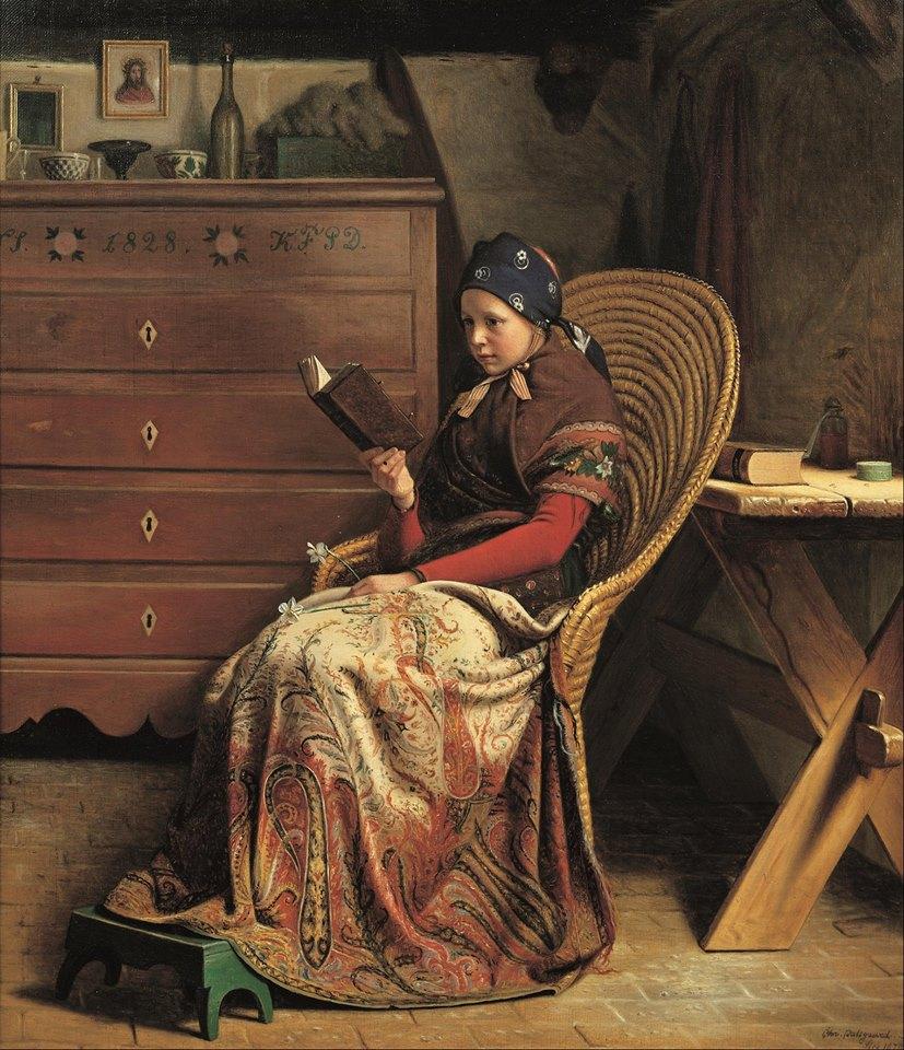 Christen Dalsgaard (1824 – 1907) A Convalescent