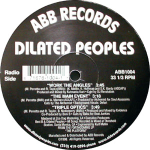 Dilated Peoples – Work The Angles / The Main Event / Triple Optics (VLS) (1998) (FLAC + 320 kbps)