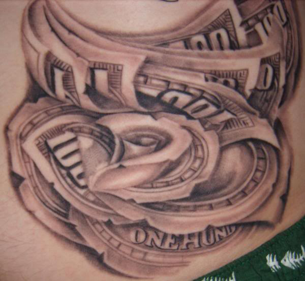 Money Tattoos