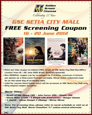 GSC Setia City Mall