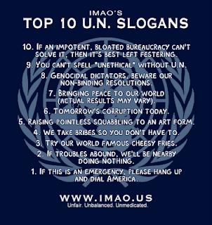 UN motto slogans