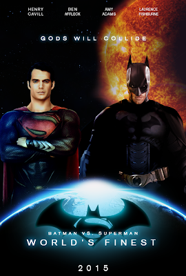 batman vs superman, fan-made poster