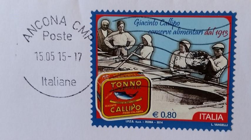 francobollo Tonno Callipo
