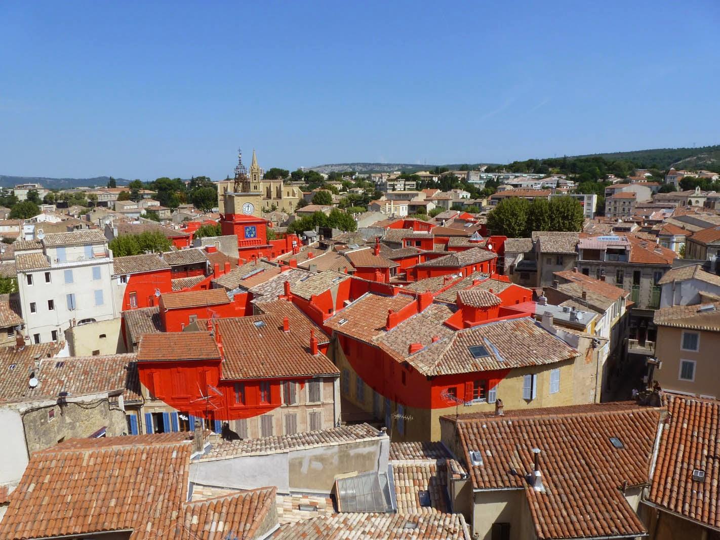 Petites histoires sur l 39 architecture des ronds rouges sur for Presto pizza salon de provence