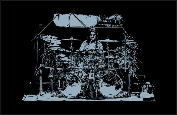 mike_portnoy-drum_set_back_vector