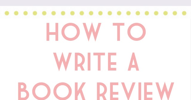 How to get a book review written
