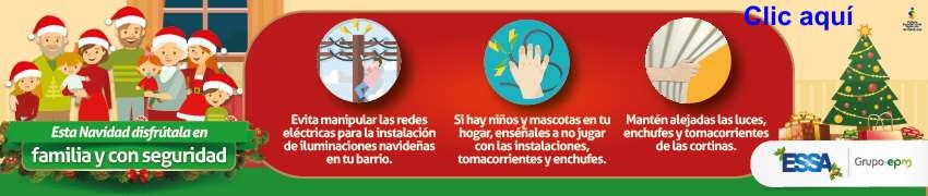 Mensaje de Navidad de ESSA-EPM