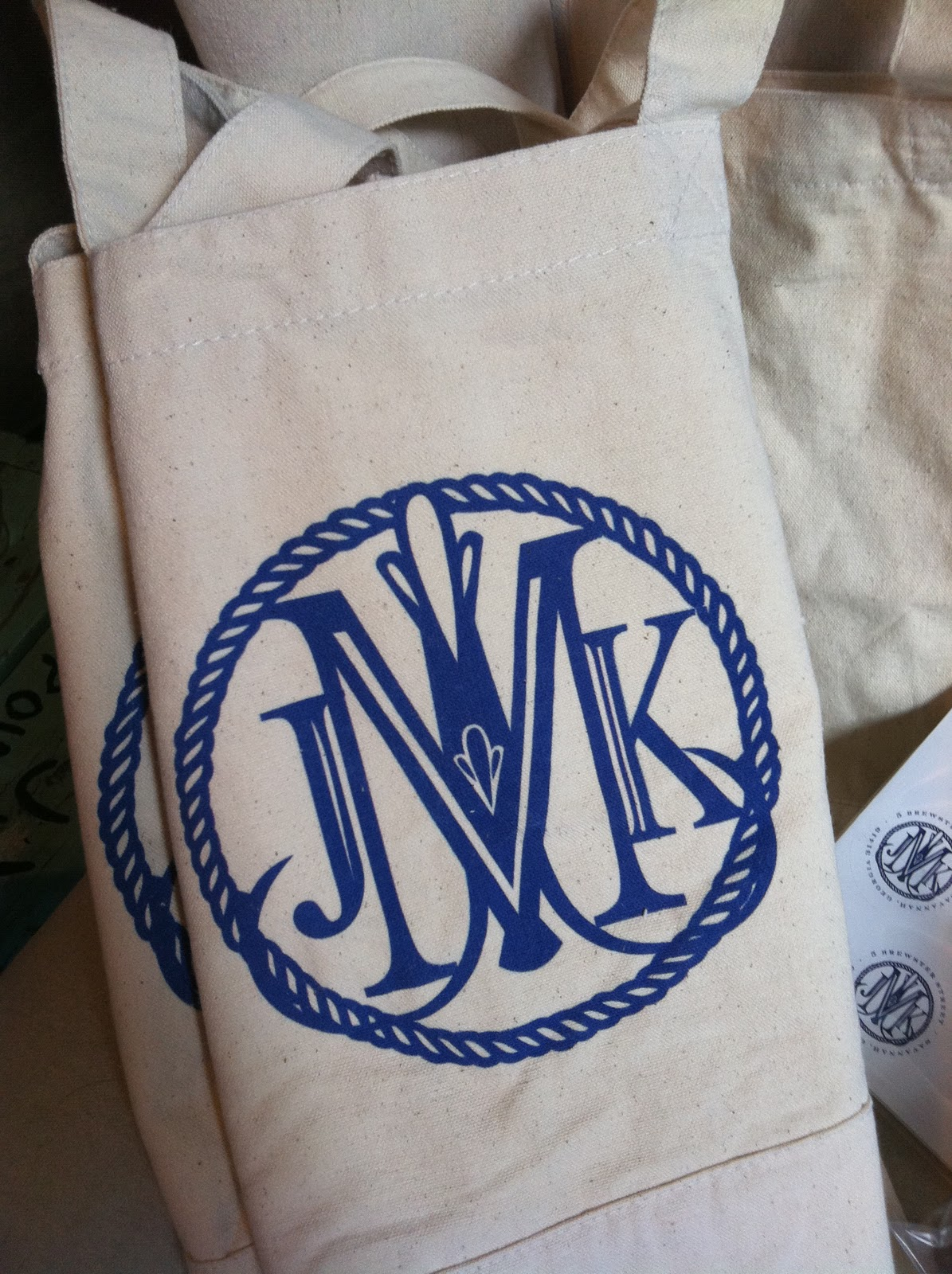 savannah designer  emily mccarthy   blog  nautical monogram gift basket