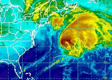 Hurricane Kate NOAA Satellite Image