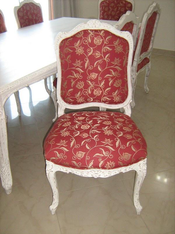 decoracao de interiores estilo handmade:Cadeiras Italianas Handmade- Mobiliario Interno sob Encomenda SP