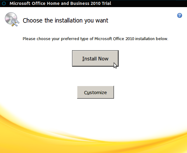 Install Microsoft Office 2010 in Ubuntu 12.10/12.04 and