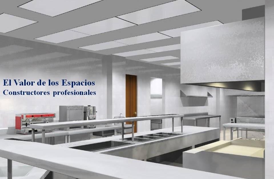 Cocinas industriales for Material cocina industrial
