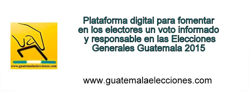 GUATEMALA ELECCIONES 2015