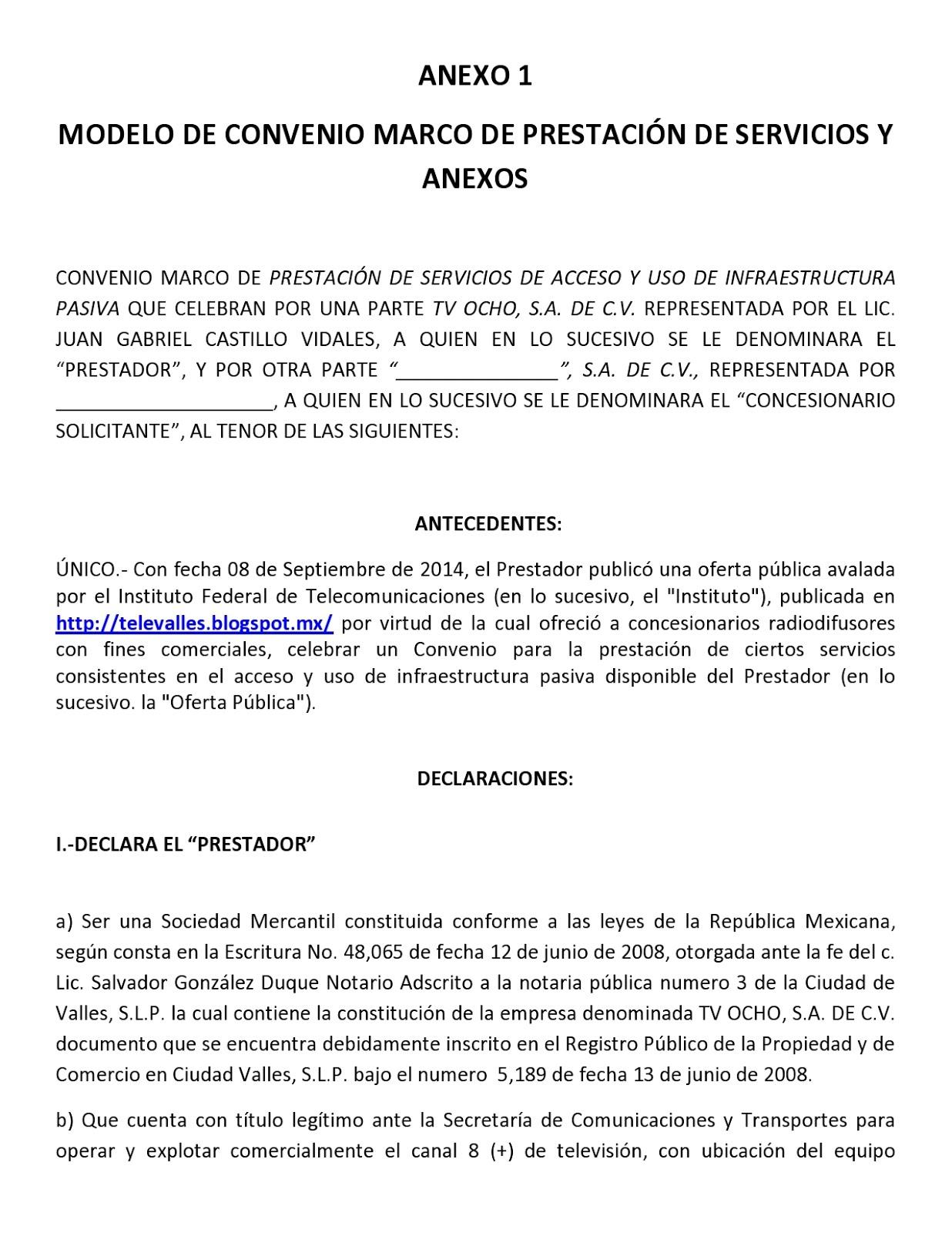 Oferta de la Red Pública 04