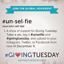 UnSelfie #GivingTuesday