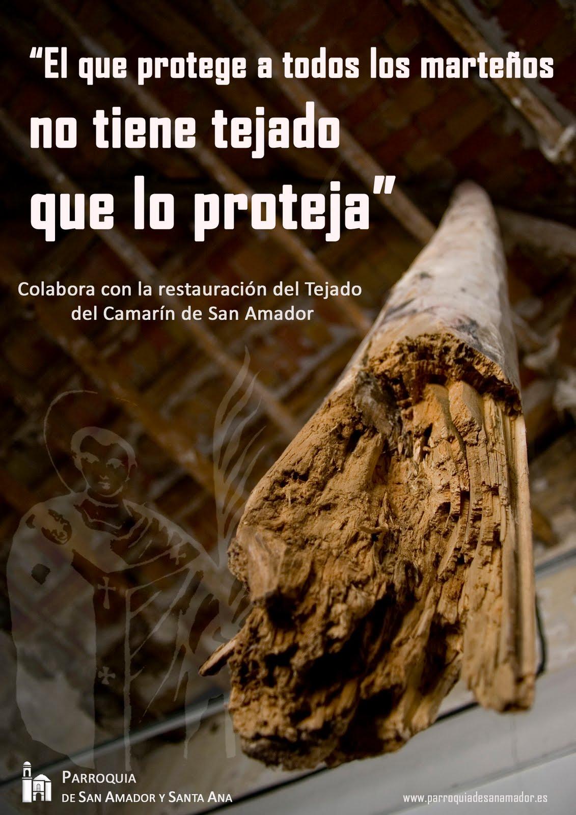 Restauración camarin San Amador MartosDigital