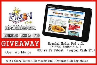 Enter to win $70 PayPal or a Hyundai Media Pad. Open WW. Ends 10/28