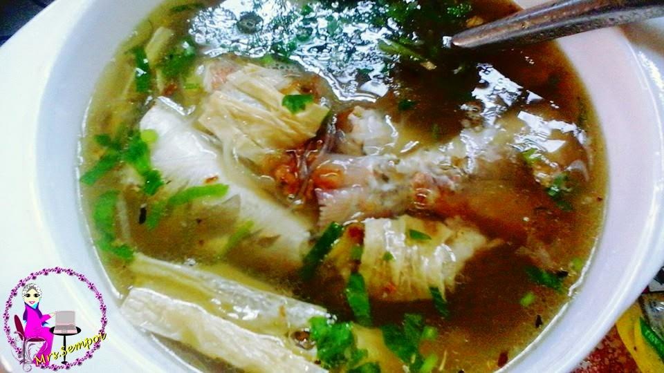 Sup Ikan juga sesuai untuk diet dan berpantang