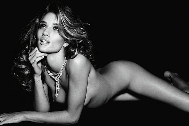 Rosie Huntington-Whiteley – Vogue Germany Naked Photoshoot