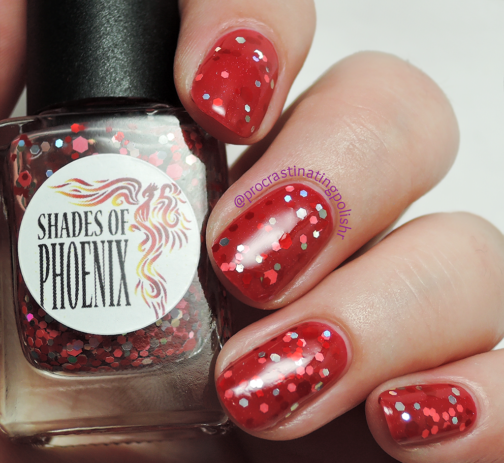 Shades of Phoenix - Cherry Pops | Sparkling Simplicity collection
