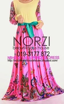 (LESS 20% UNTIL AIDILFITRI)NBH0125 LAILA DRESS (NURSING FRIENDLY)
