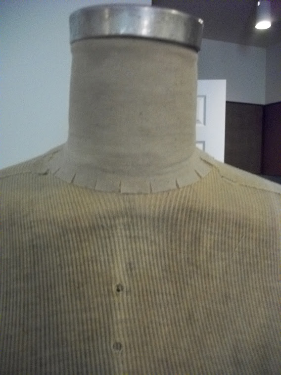 Dress form finished neck