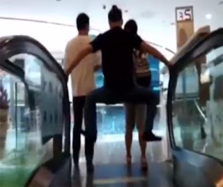 China escalator accident phobia photo 1