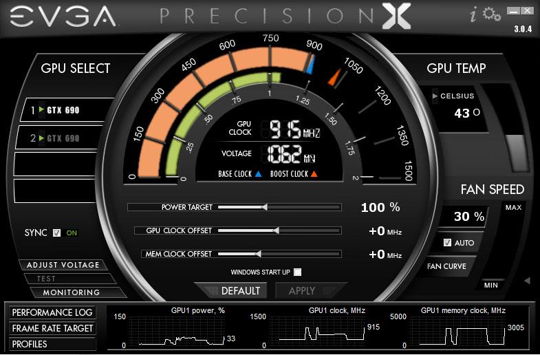 EVGA Precision X - V 3.0.4