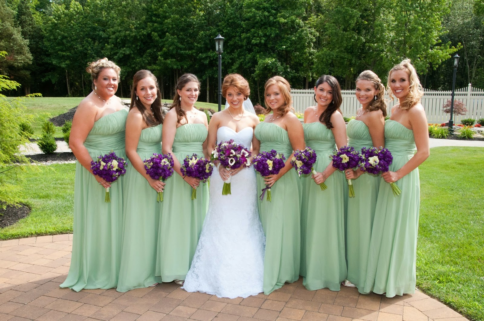 Gallery For Light Green Bridesmaid Dress