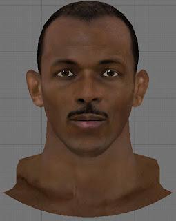 NBA 2K13 Clyde Drexler Cyberface Patch
