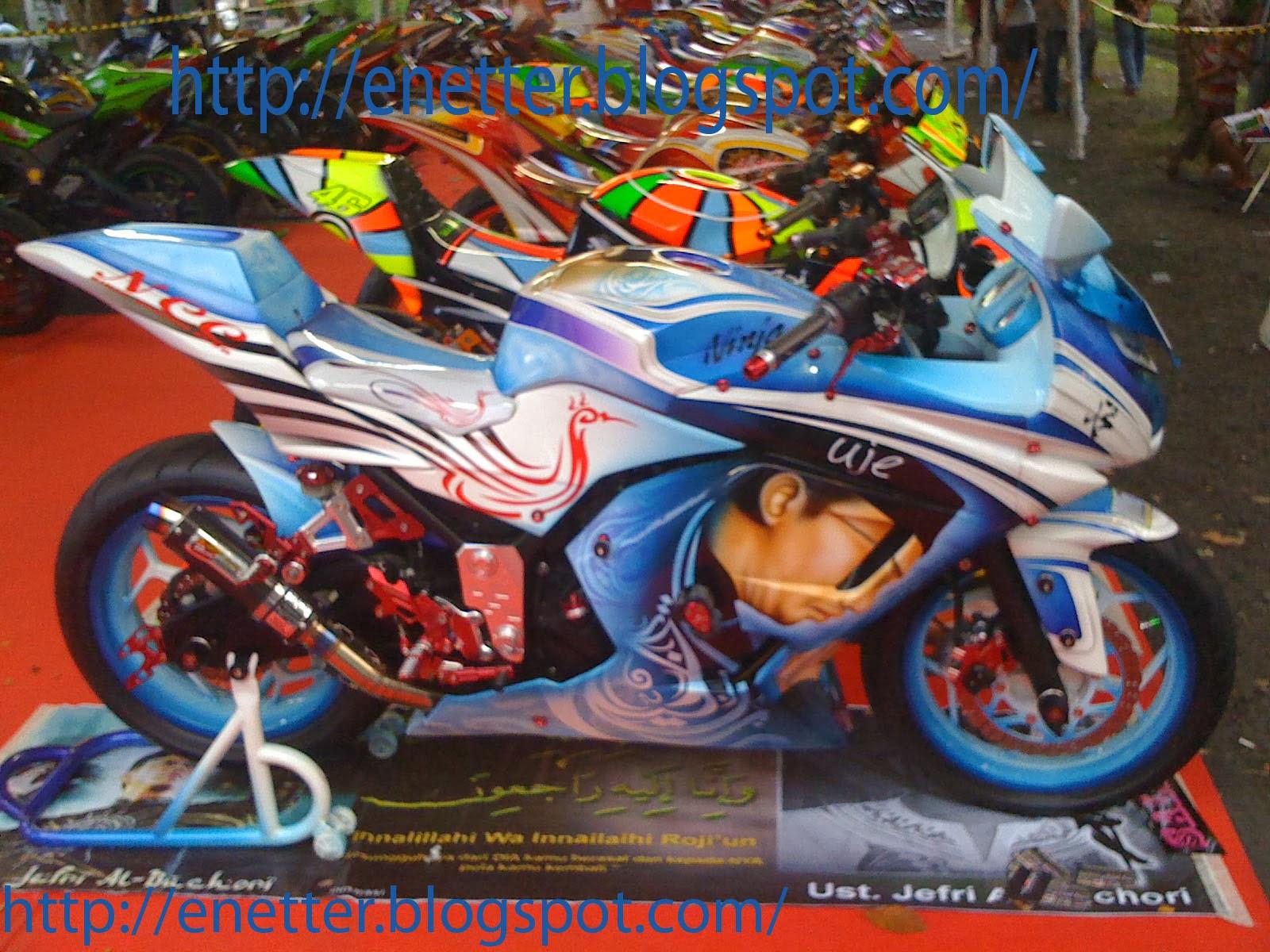 Kawasaki Ninja 250 style ustad uje
