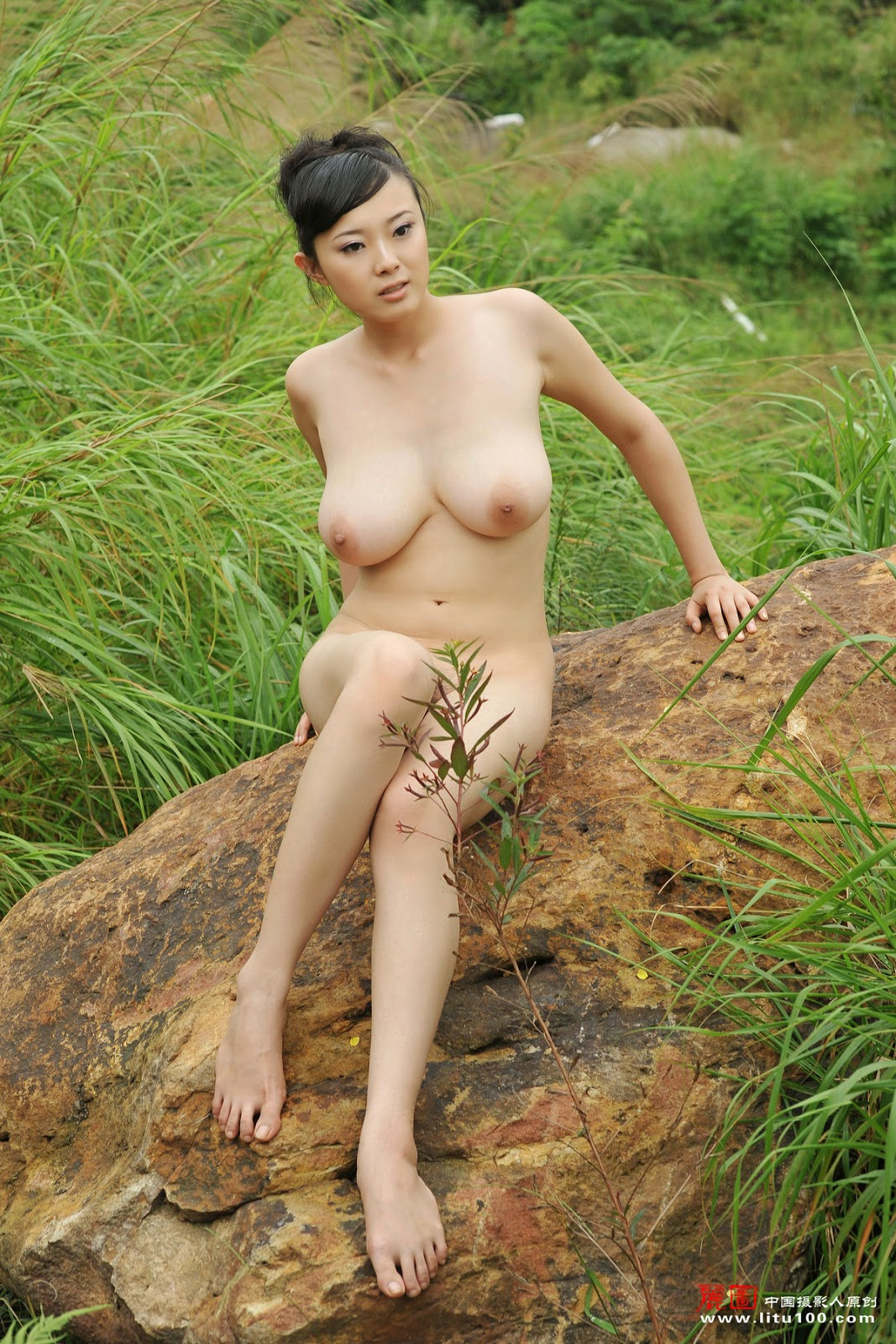 Very grateful chinese nude art model be