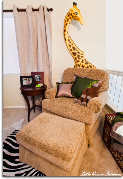 Jungle Nursery Baby Room