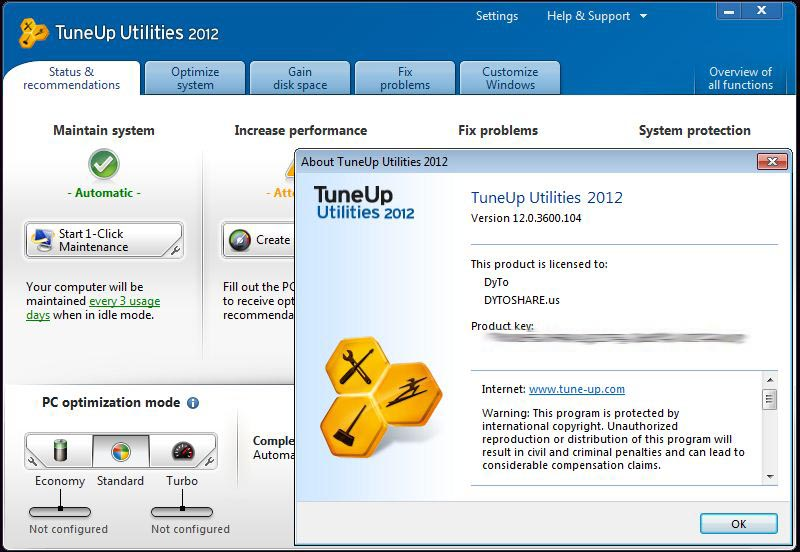 Tuneup utilities keygen 2012. cracker clé wep sous windows 7 facilement. in