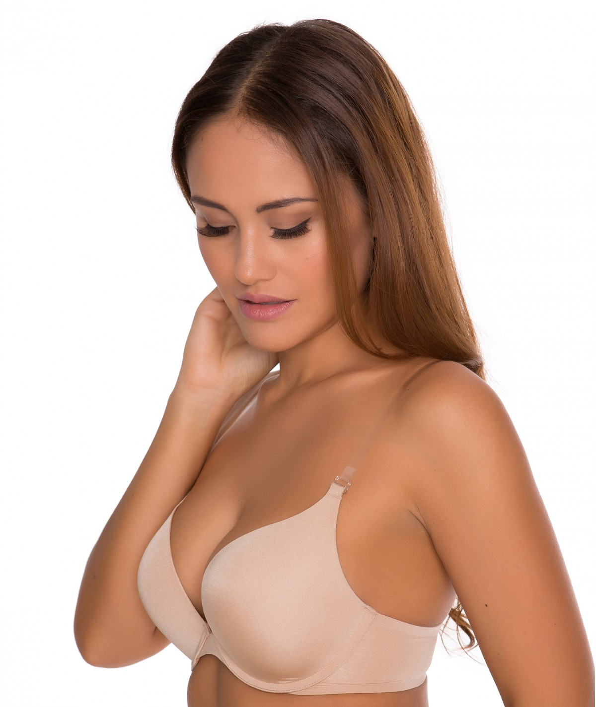 Minimizer Bra with Clear Strap - Best Bra Choice for Woman