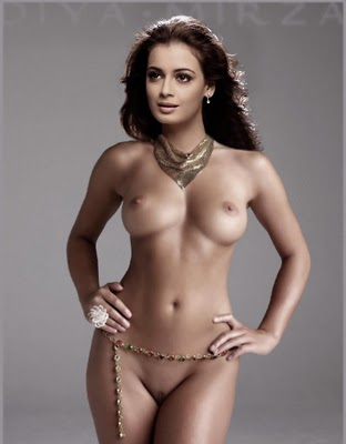 Ameesha Patel Latest Nude Photoshoot - Fake Heroins